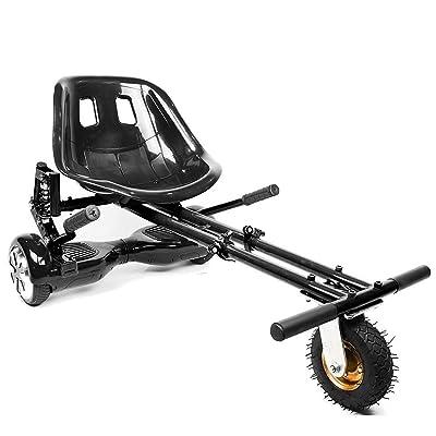 Nouveau modèle de style 2018Hover Kart Kart de suspension pour Hover planches, Hoverboard Accessoires avec avant tout terrain Pneu–Compatible avec 16,5cm 20,3cm 25,4cm deux rou