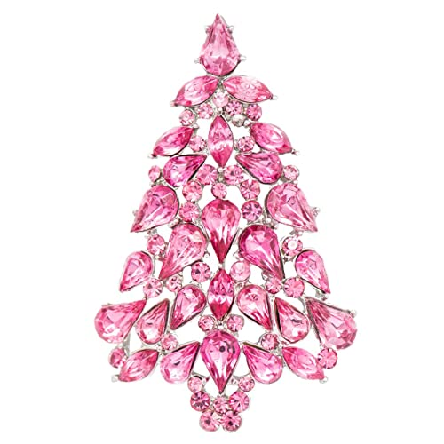 Amazon Com Sepbridals Multicolor Crystals Rhinestone Brooch Women
