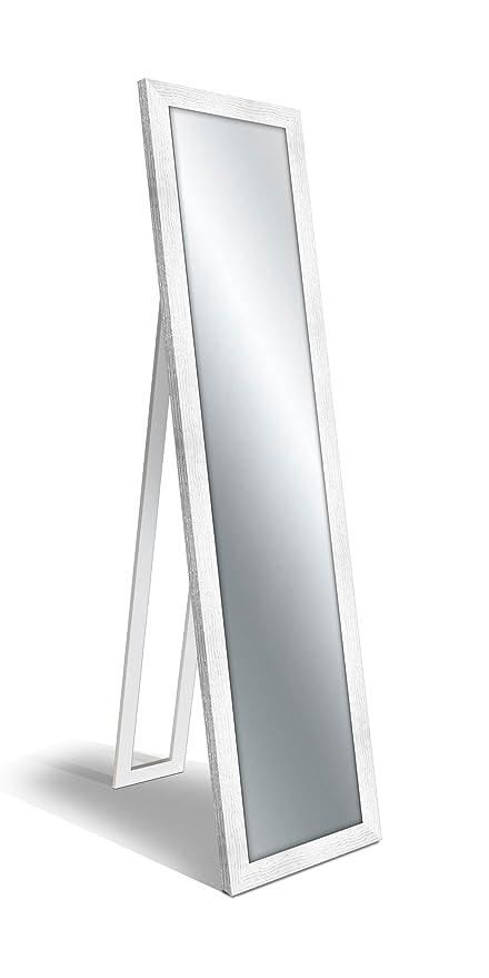 Specchio Da Terra.Lupia Specchio Da Terra Floor Mirror 40x160 Cm Boston Shabby White