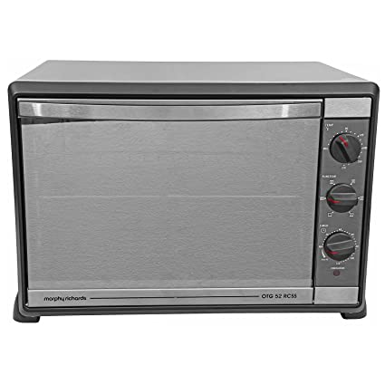 buy morphy richards 52 rcss 52 litre oven toaster grill black rh amazon in morphy richards otg 28 rss user manual pdf morphy richards otg user manual