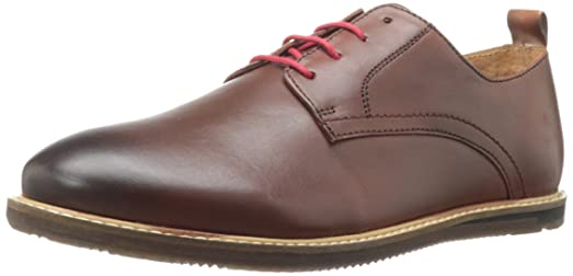 Ben Sherman Men's Mayfair Leather Oxford,Brown,11 ...