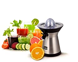 Epica Powerful Stainless Steel Whisper-quiet Citrus Juicer-70 Watt motor