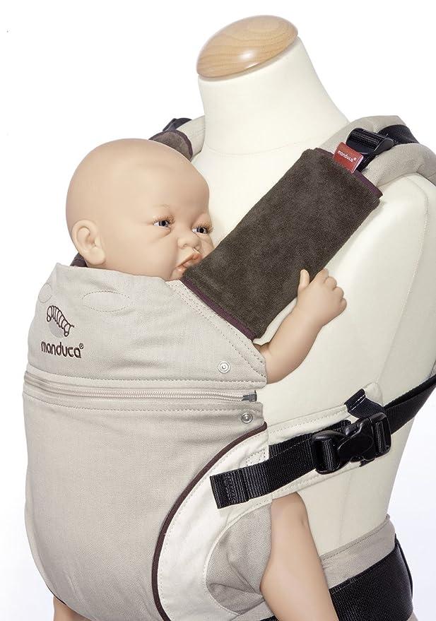Protège Bretelle pour porte bébé Manduca - Fumbee Ecru  Amazon.fr  Bébés    Puériculture e02f47e2986