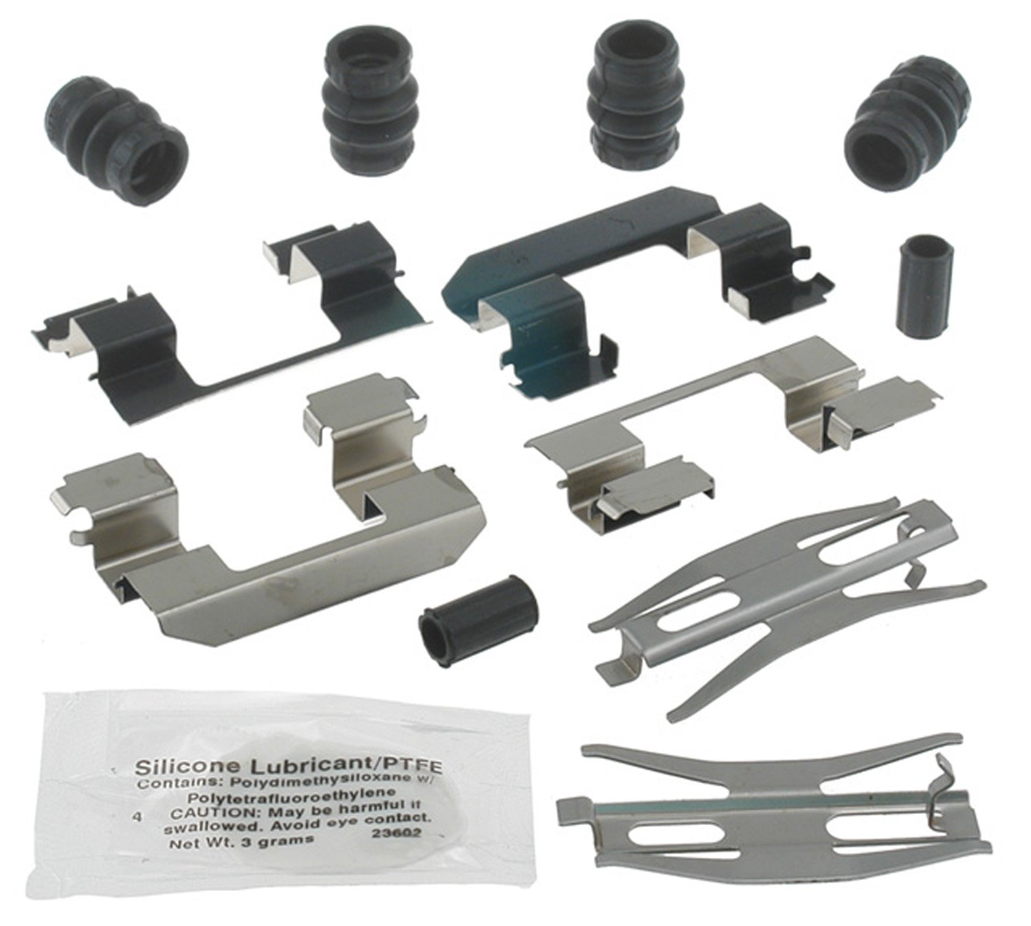 ACDelco 18K1359X Professional Rear Disc Brake Caliper Hardware Kit with Clips