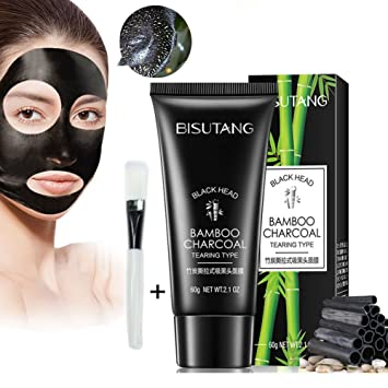 Blackhead Remover Mask, YouthWin Deep Cleansing Bamboo Charcoal Blackhead Mask, Peel Off Black Mask