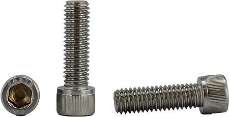 Button Head Socket Cap Screw Stainless Steel Screws UNC 3//8-16 x 2-1//4 Qty 25
