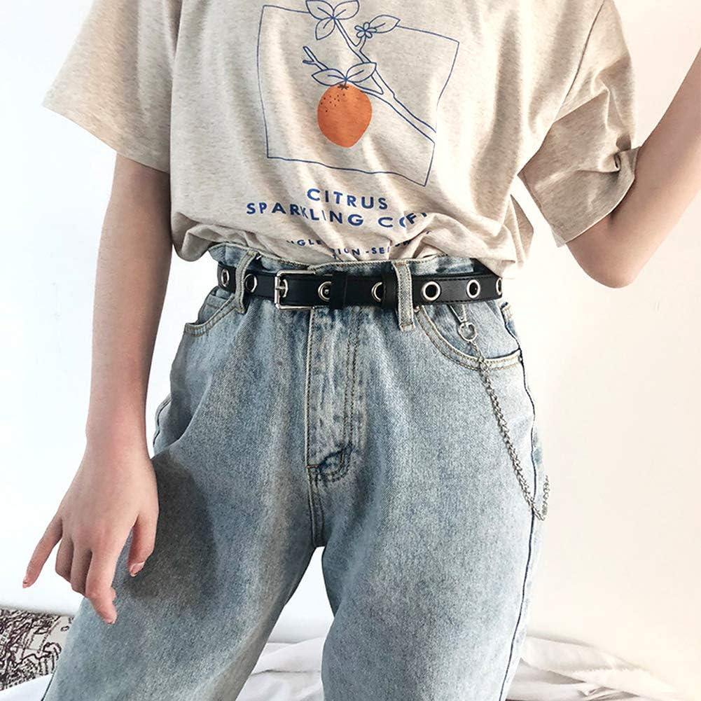 xianzhanEU 4 St/ücke Hosenkette,Hip Hop Jeansketten mit Karabinerhaken f/ür Kost/üm hut Schl/üssel Brieftasche Dekoration Zubeh/ör,3 Stile Einlagig//Doppelten Schichten//Dreifachschichten ,Unisex
