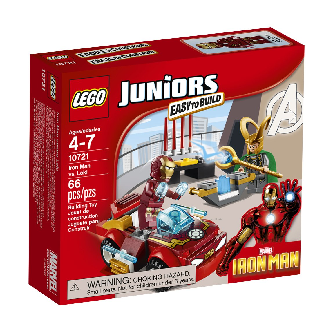 LEGO Juniors Iron Man vs. Loki