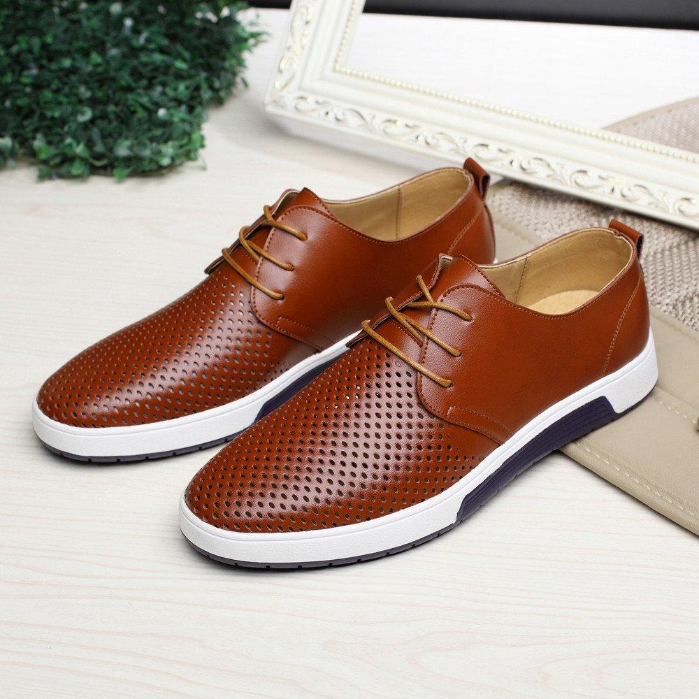 c06d0fa18ac1 Amazon.com: JJHAEVDY Men's Fashion Sneakers Business Casual Shoes ...