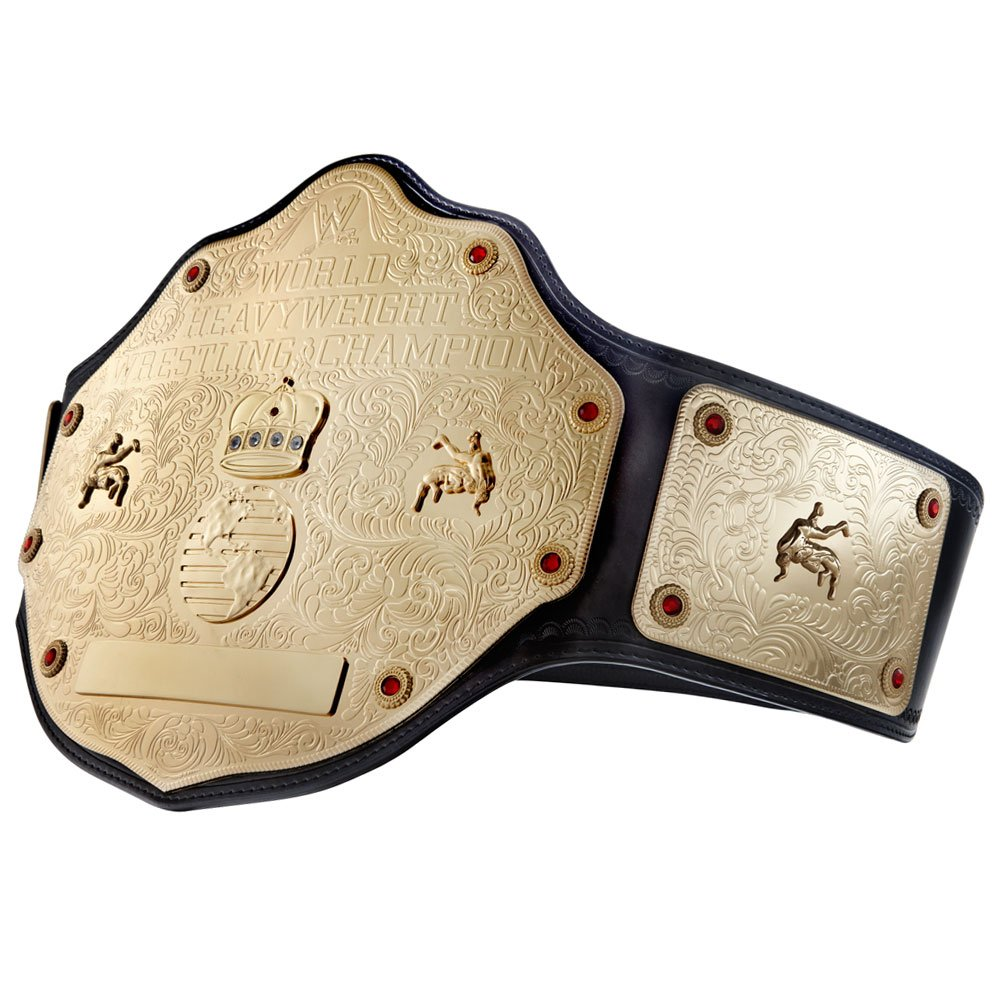 WWE World Heavyweight Championship Commemorative Title Belt Small by WWE Authentic Wear (Image #2)