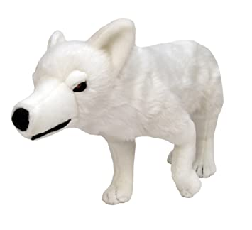 Star images Estrella Imágenes Game of Thrones Direwolf Ghost Peluche