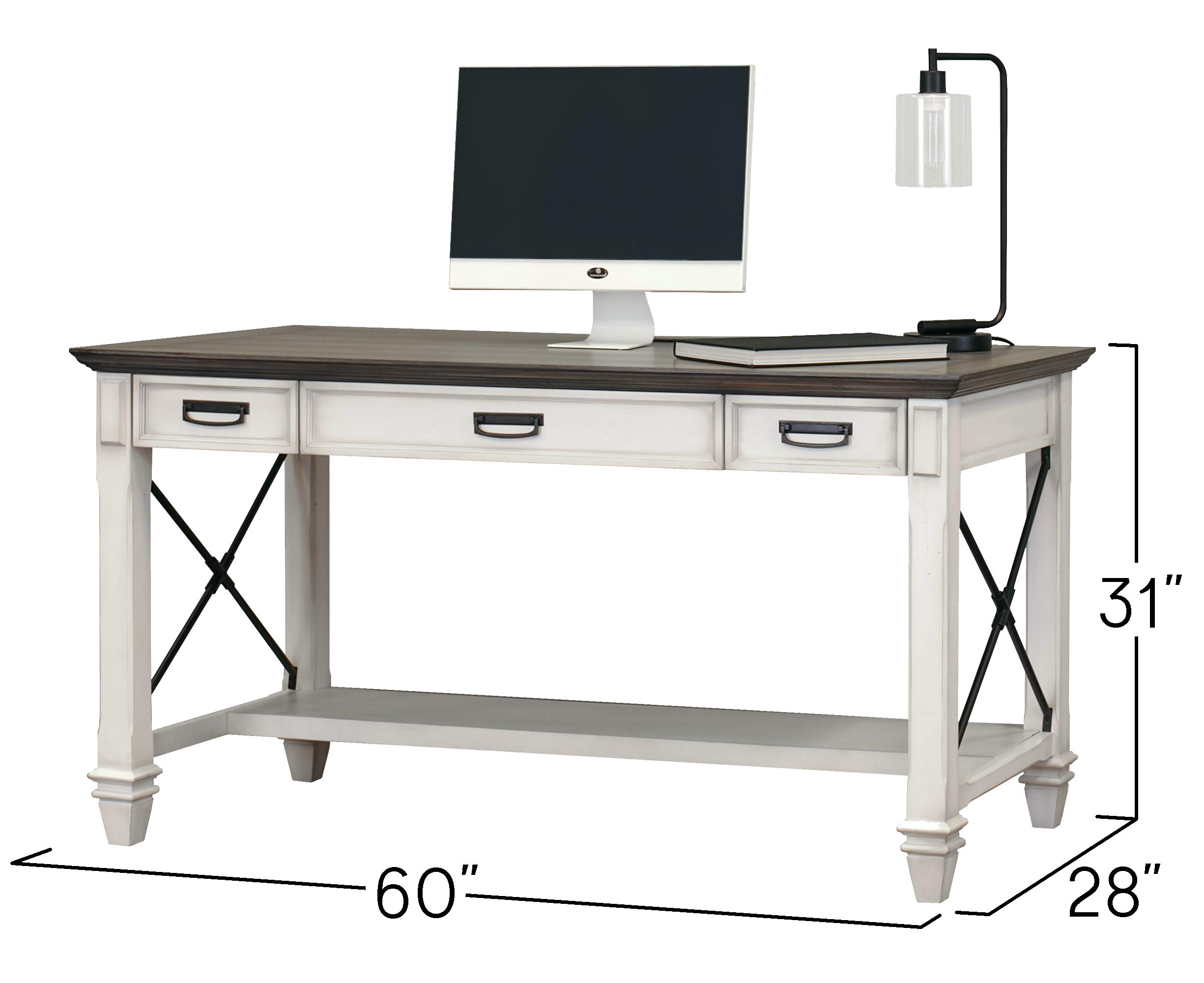 Martin Furniture Writing Table, White by Martin Furniture