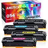 Amstech Compatible Toner Cartridge Replacement for Canon 054 Toner MF644Cdw Canon Color ImageCLASS MF644Cdw MF642Cdw LBP622Cdw MF641Cdw MF642 MF644 Toner Cartridge (Black Cyan Yellow Magenta, 4-Pack)