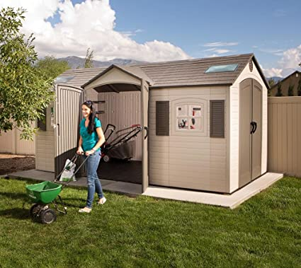 Lovely Dual Entry Garden Shed