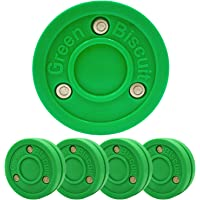 Green Biscuit 4 Pack Passer Off-Ice Stickhandling & Passing Puck This Biscuit is Great for Street Hockey