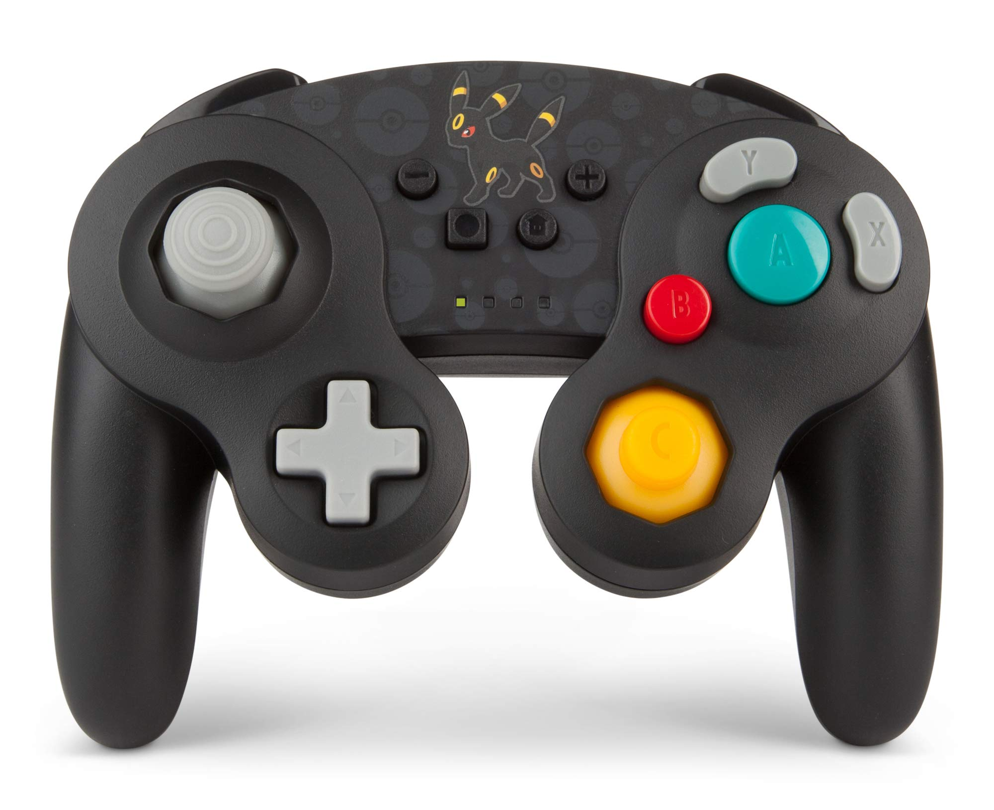 PowerA Pokemon Wireless GameCube Style Controller for Nintendo Switch - Umbreon