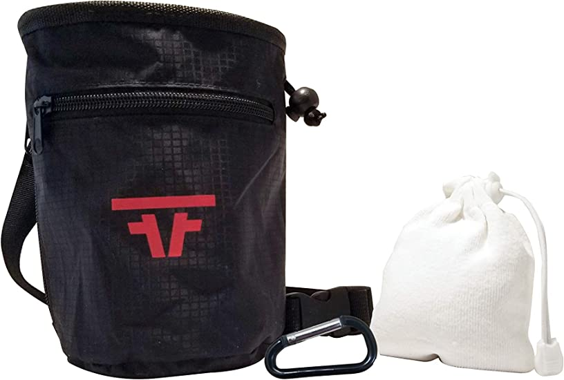 or Gym Refillable Chalk Ball and Bag for Rock Climbing Bouldering