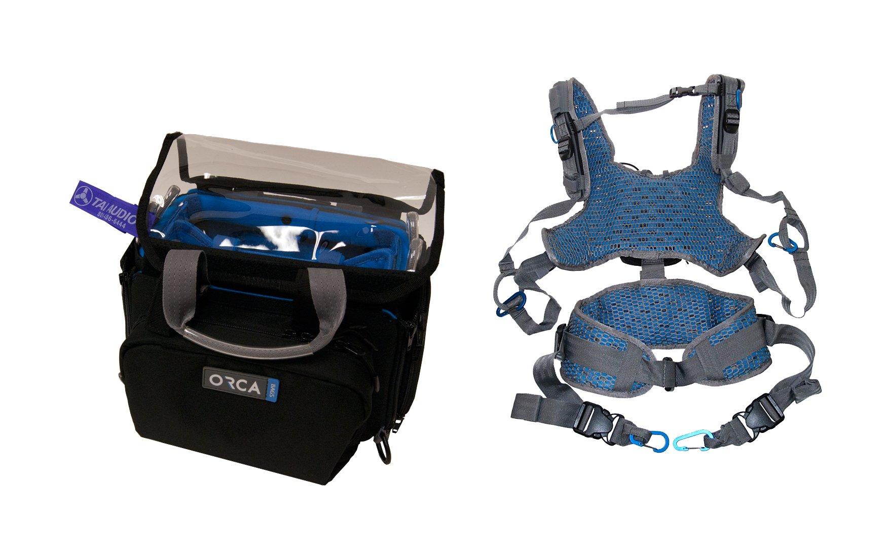 Orca OR-28 Mini Audio Bag & Orca OR-40 Harness