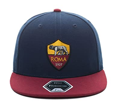 7e5c7ad3d73b3 Amazon.com   Fi Collection AS Roma True Fitted Team Cap (7)   Sports ...