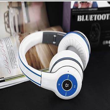 LQQAZY Auriculares Inalámbricos Micrófono HD Tarjeta Juego PC/Mobile / TV Auriculares con Micrófono Y
