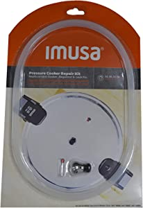 IMUSA USA SP-99505 12Qt, 16Qt & 22Qt Repair Kit for IMUSA Pressure, Red