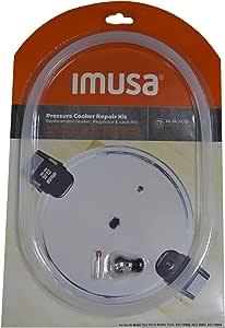 IMUSA USA 12Qt, 16Qt & 22Qt Repair Kit for IMUSA Pressure, Red