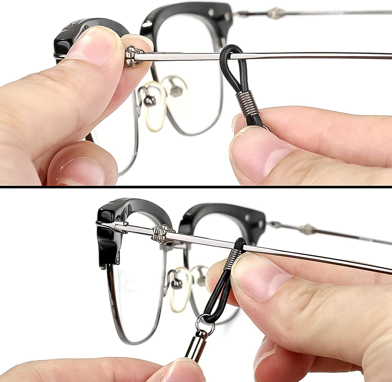 8 St/ück Brillenkette Brille Seil Brille Kordel Halte Multicolor geflochtenes Seil Brillen Sport Brillenb/änder Halter Kette Brillenketten Brillenb/änder f/ür Damen herren