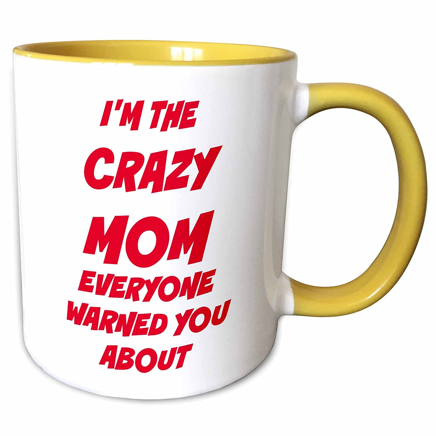 Amazon.com: 3dRose Xander funny quotes - Im the crazy mom ...