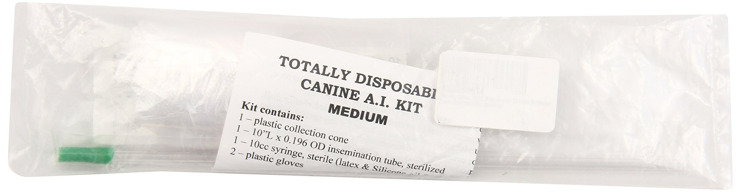 Henke, Sass, Wolf Disposable Canine Artificial Insemination Kits, Medium