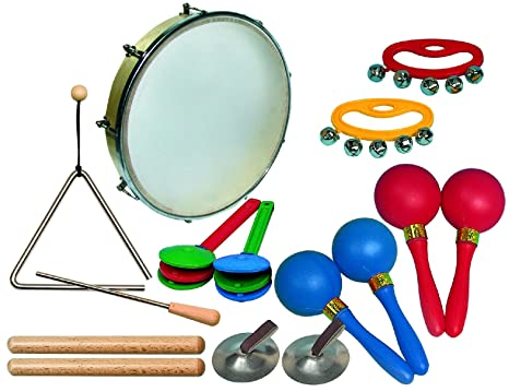 Goldon - Mini juego de ritmo (10 piezas, contenido: Tambor de ...