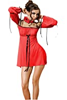 Anais Sensual Lingerie - Robe - Femme Rouge Rouge
