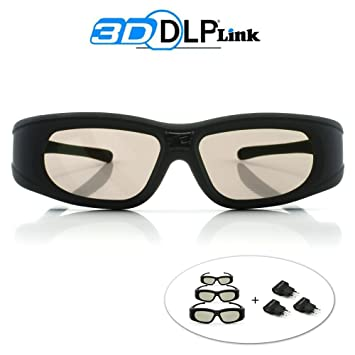 """4d3e96e221 Lunettes 3D DLP-Link """"Wave Xtra""""- 3 paires de lunettes 3D"""