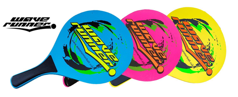 Amazon.com: Juego de palas de madera Wave Runner Sports para ...