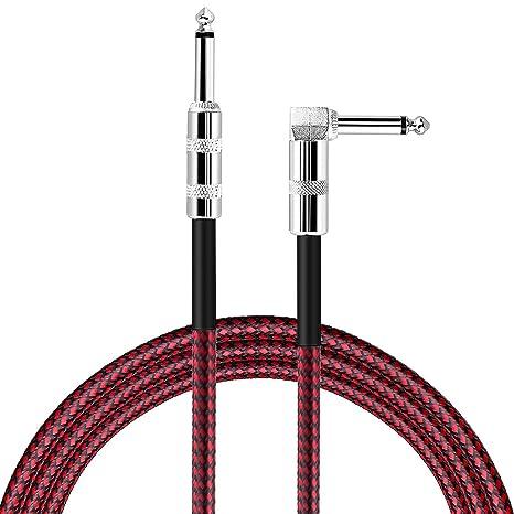 Mystery Cable Guitarra Eléctrica(3m de largo), Instrumento Cable para Guitarra / Bajo