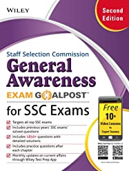 Wiley's General Awareness Exam Goalpost for Staff Selection Commission (SSC) Exams