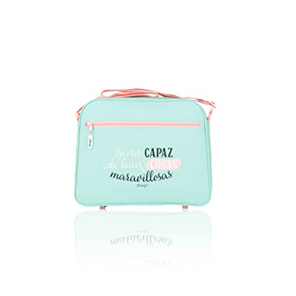 Safta 048362 Mr. Wonderful Bolso Bandolera, Color Verde