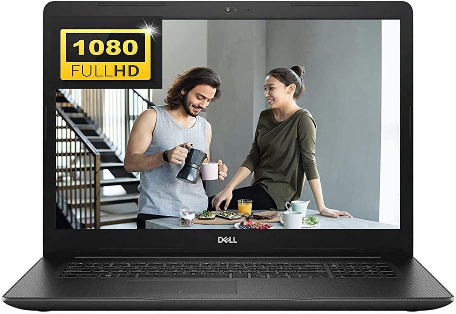 Dell Inspiron 17 3000 3793 Premium 2020 Business Laptop I 17.3 inch Full HD Display I 10th Gen Intel Quad-Core i7-1065G7 I 16GB DDR4 512GB SSD I WiFi HDMI Win 10 + Delca 16GB Micro SD Card