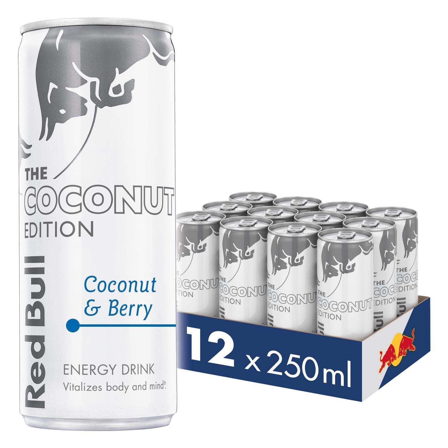 Red Bull Energy Drink Coconut Berry, 12x250ml