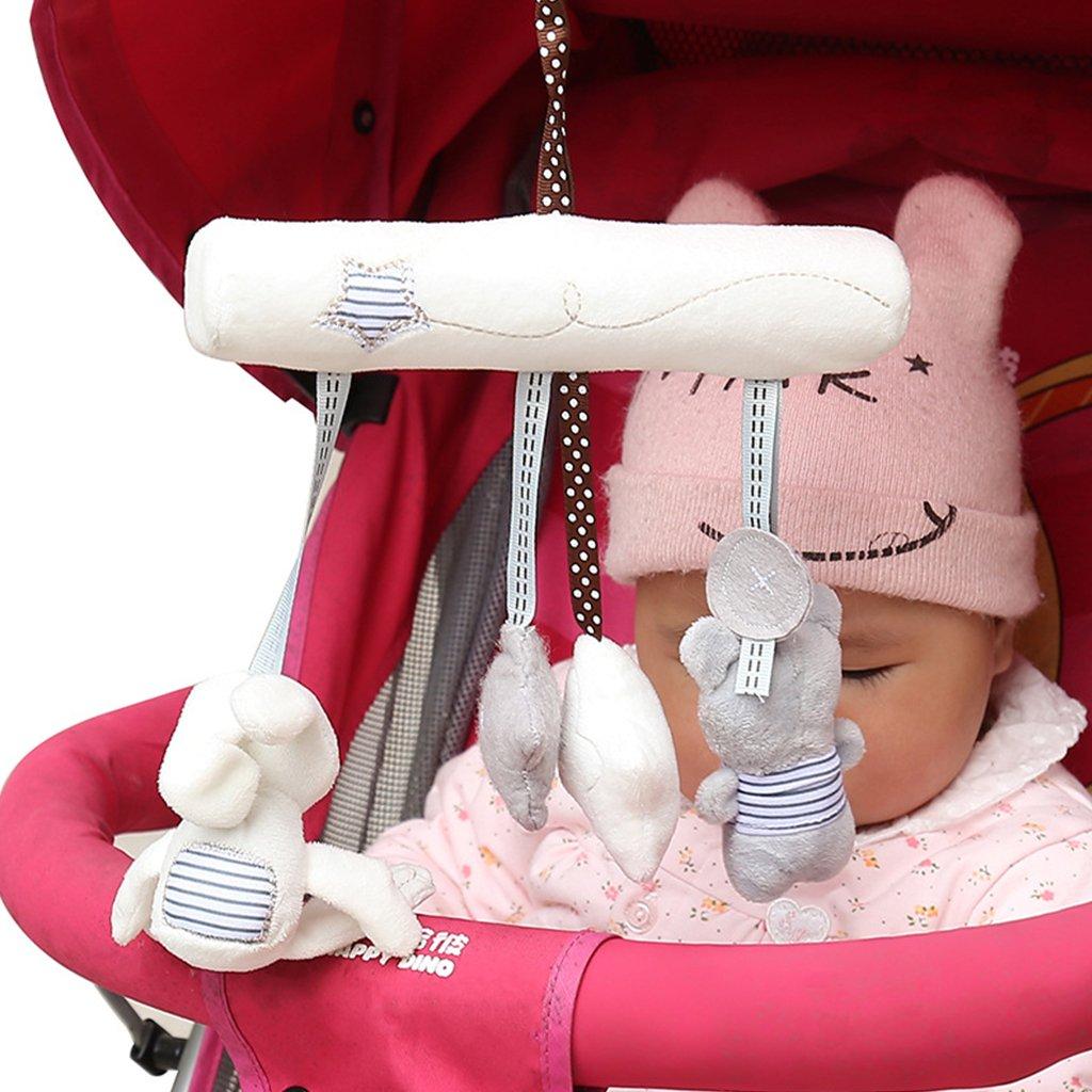 Juguete para el Coche cunas de Peluche Estrella Cochecito de beb/é Kalttoy Mu/ñeca de Felpa para Colgar en la Cama Lindo Conejo
