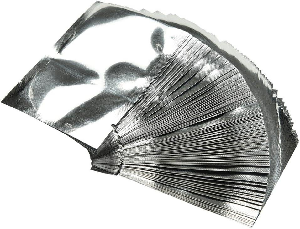 100pcs silver aluminum foil mylar bag vacuum sealer food storage package SE