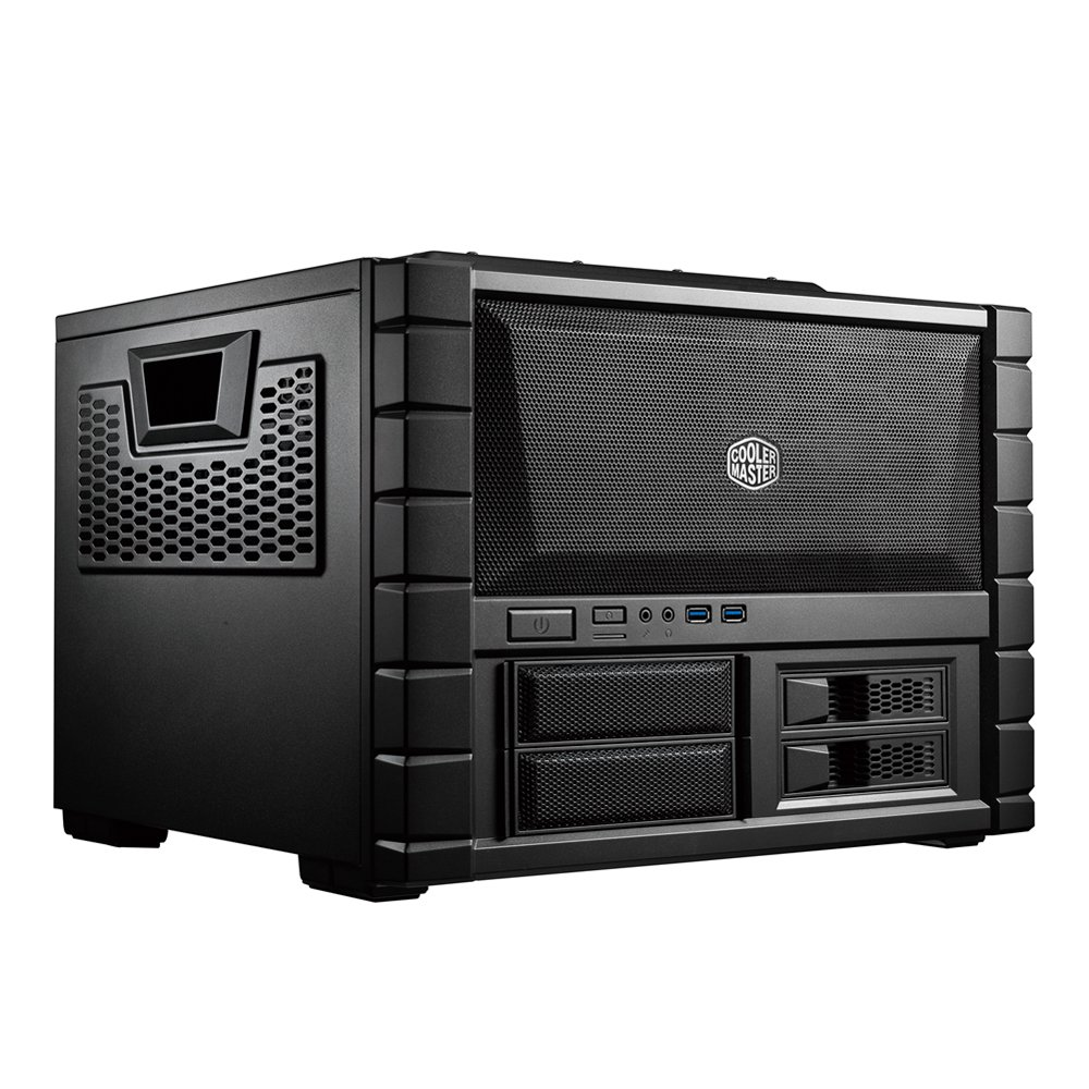 Cooler Master HAF XB EVO, HTPC Computer Case with High Airflow Design, USB 3.0 and 240mm Radiator Support (RC-902XB-KKN2)