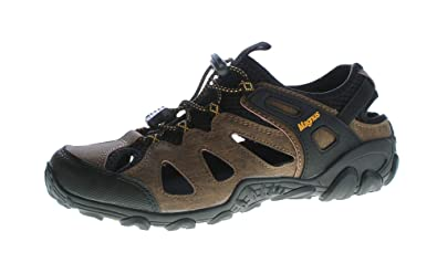 Halb Herren Gummizug Größe Outdoor Schuhe Echt Leder Sandalen Sandaletten 40 46 7b6gfYyv