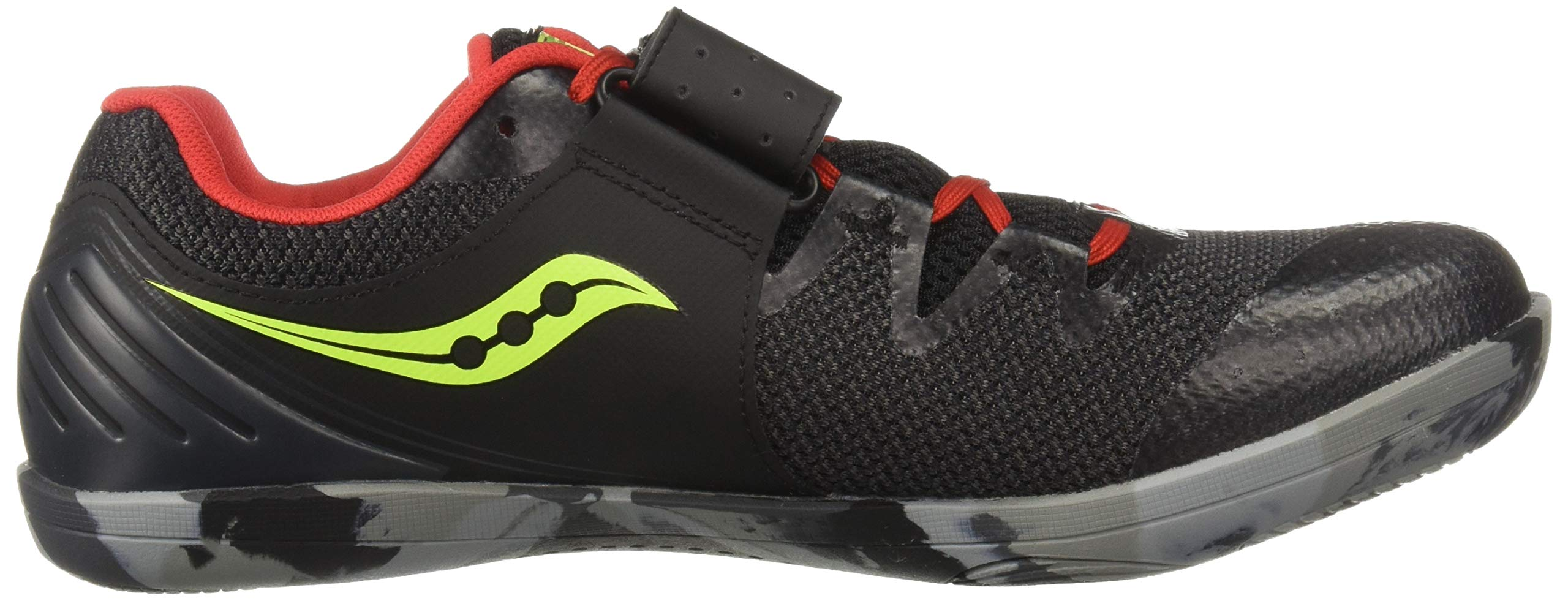 Saucony Men's Unleash SD2 Track and Field Shoe Black/red 8.5 by Saucony (Image #7)