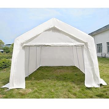 MissSnower Outdoor Portable Garage Gazebo Carport Party Tent Car ...