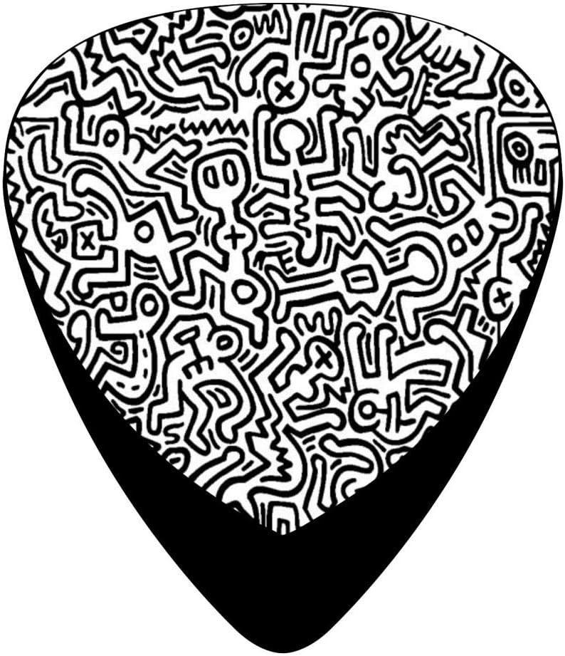 Púas para guitarra Keith Haring Dunlop M100% 2018, paquete de 12 ...