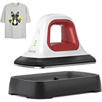 """AMTOK Heat Press - 7"""" x 3.8"""" Heat Press Machines for T Shirts Shoes Bags Hats and Small HTV Vinyl Projects & Portable…"""