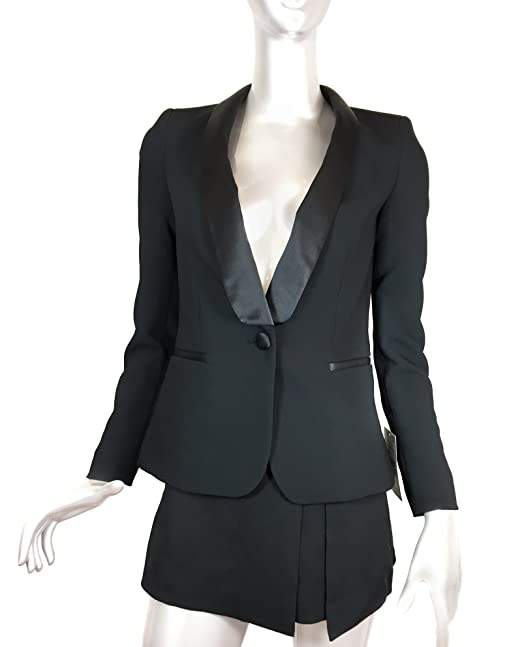 Zara - Chaqueta - para mujer negro negro X-Small: Amazon.es ...