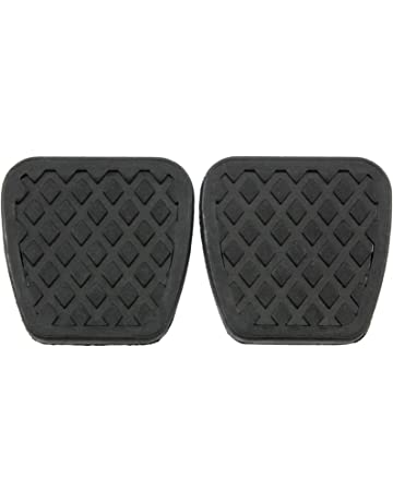 Red Hound Auto 2 Brake Clutch Pads Cover for Compatible with Honda Pedal Rubber Manual Transmission