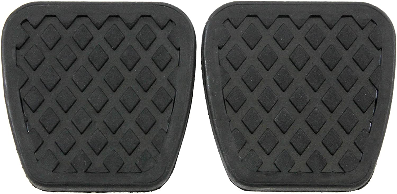YONGYAO Universal Car Non-Slip Manual Transmission Gas Clutch Brake Foot Pedal Pad Cover Black