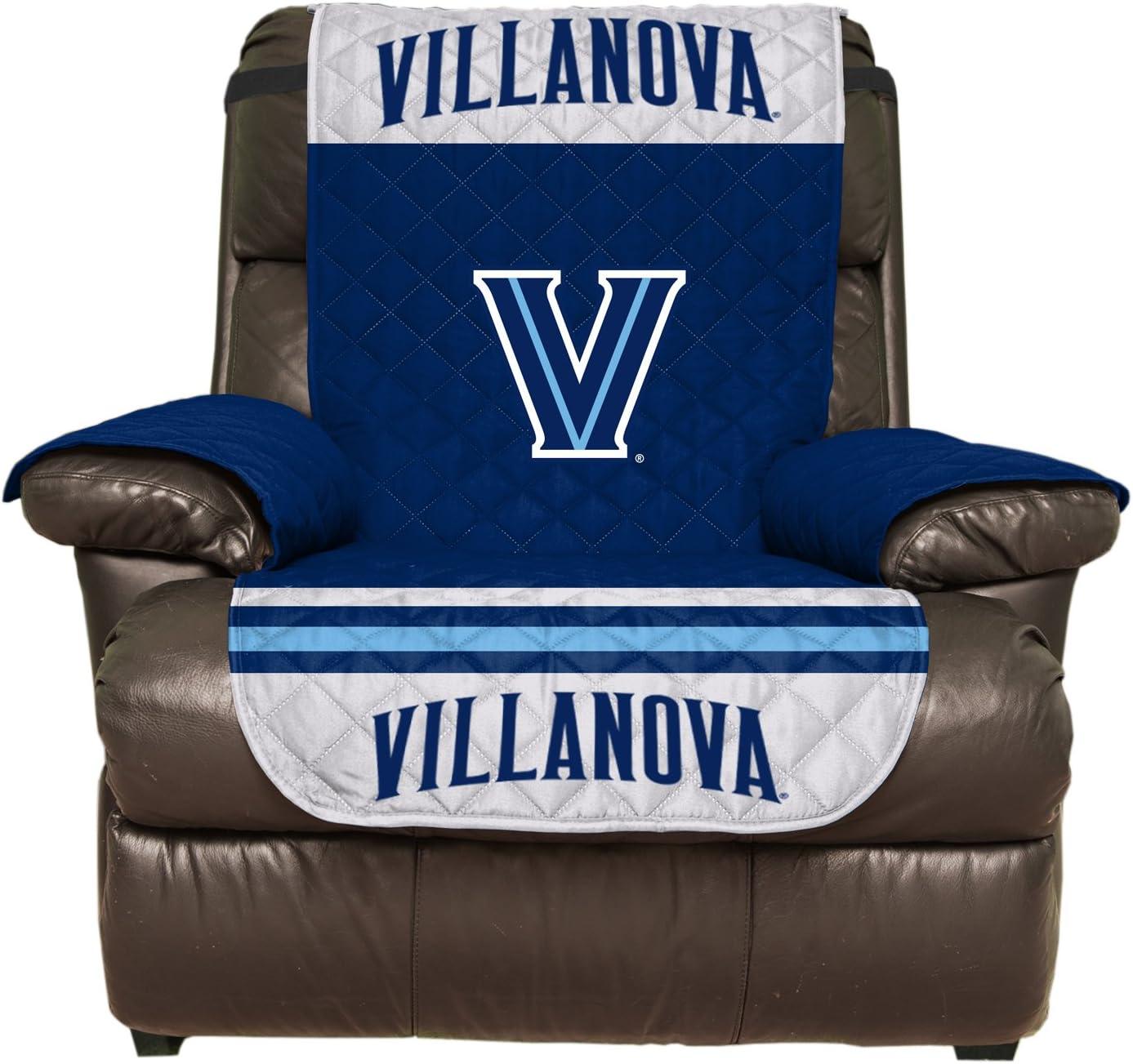 Villanova Wildcats Pegasus Sports NCAA Microfiber Furniture Protector Cover with Elastic Straps Recliner